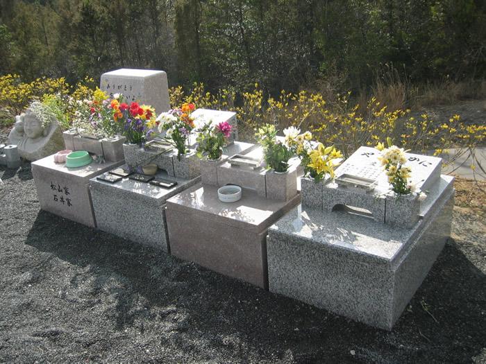 ペット用のお墓の写真