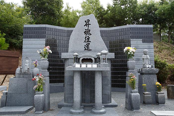 合同火葬の場合はこちらの合同墓に埋葬させていただきます。
