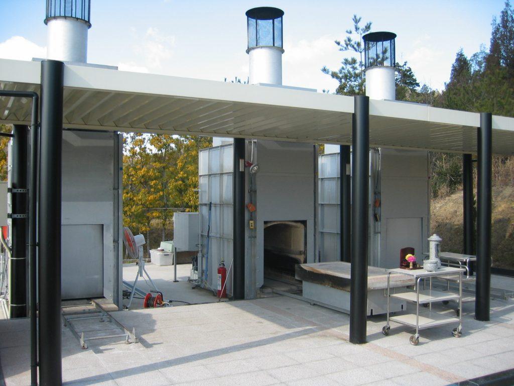 広島ペット火葬 逢の杜ペット霊園 固定火葬炉